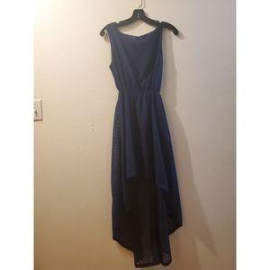 Rue21 Asymmetrical Navy Blue dress💎